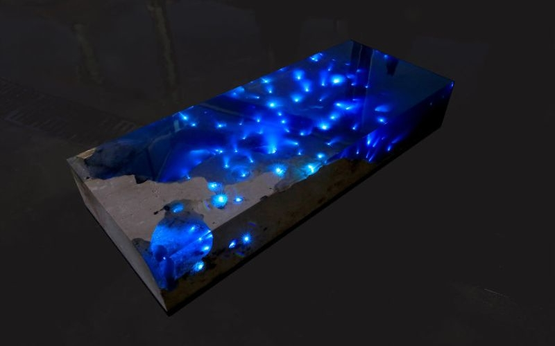 Starry and water sea table