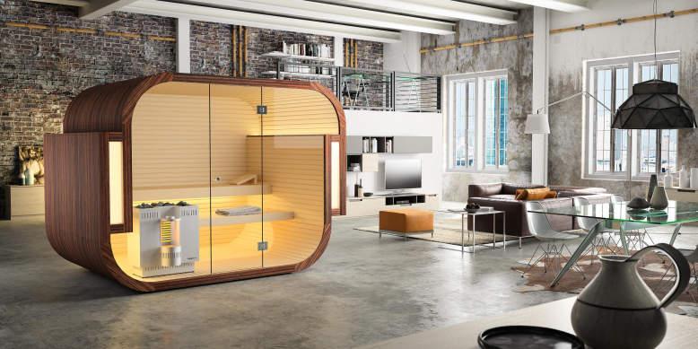 Swing freestanding sauna to enjoy benefits of sweating at home