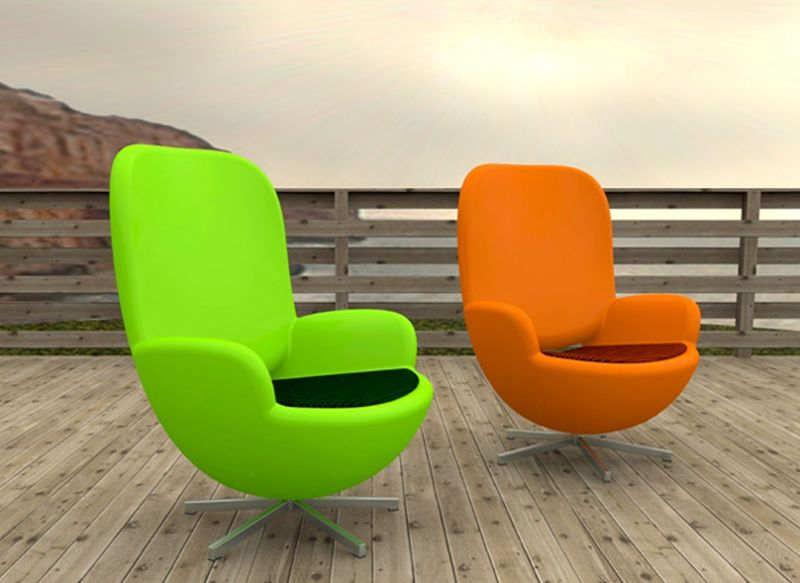 Terrance Chairs by Kaare Bækgaard