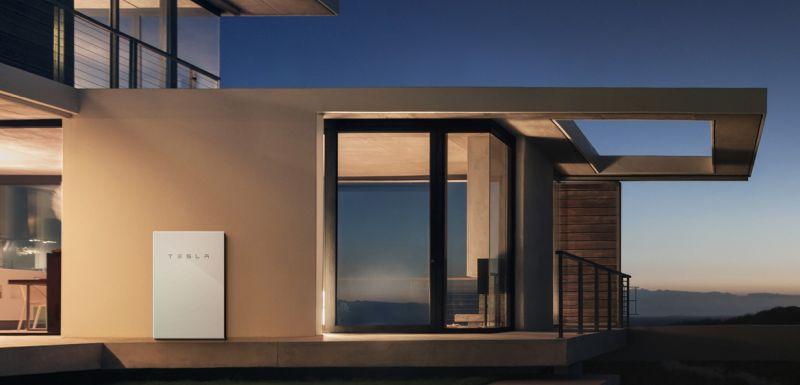 Tesla Powerwall solar power battery