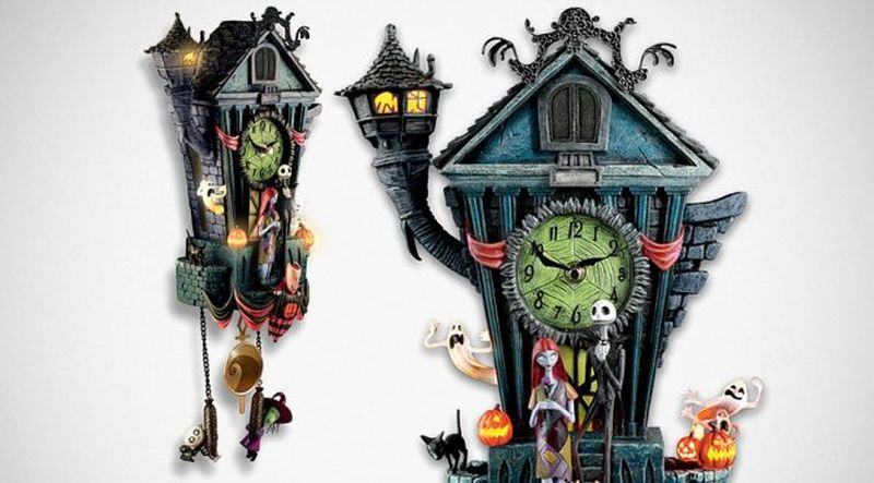 nightmare before christmas cuckoo clock plays this is halloween tune - The Nightmare Before Christmas This Is Halloween
