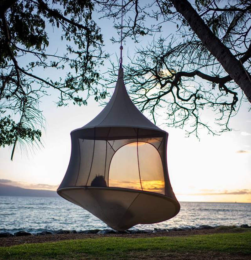 Treepod is modern reinterpretation of traditional hammock