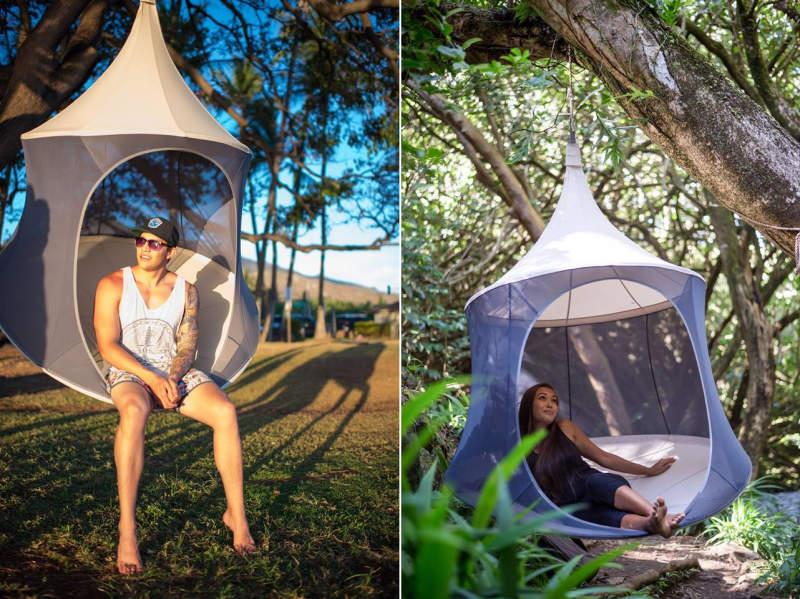 Image Mytreepod & TreePod is modern reinterpretation of traditional hammock