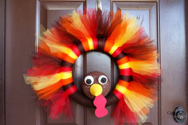 Turkey Tulle Wreath