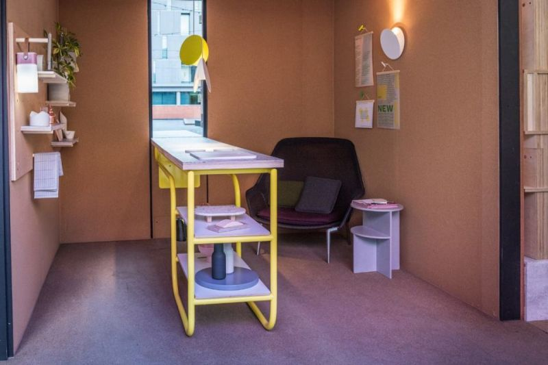 Cabin for MINI Living by Mini & Sam Jacob