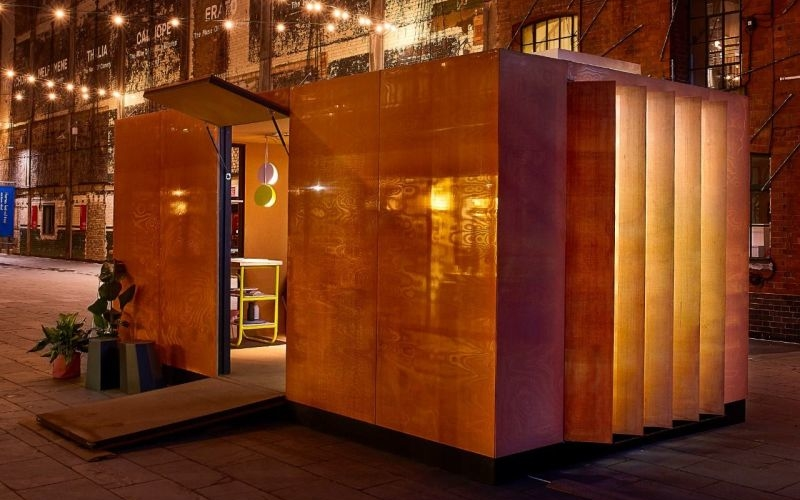 British architect Sam Jacob designs micro Urban Cabin for MINI Living