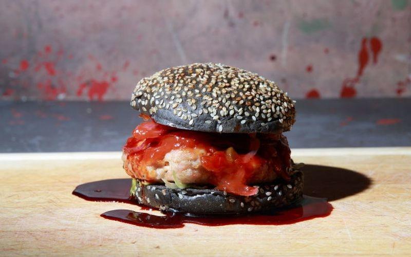 Walking Dead-inspired burger celebrates Halloween and horrifying fiction