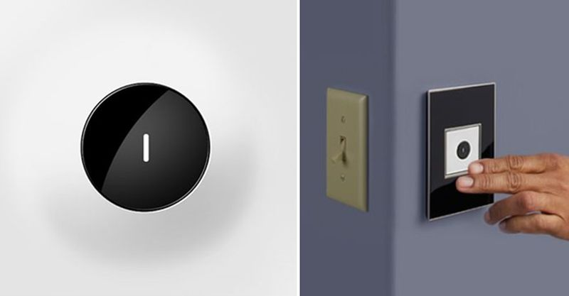 Wave Light Switch by Legrand