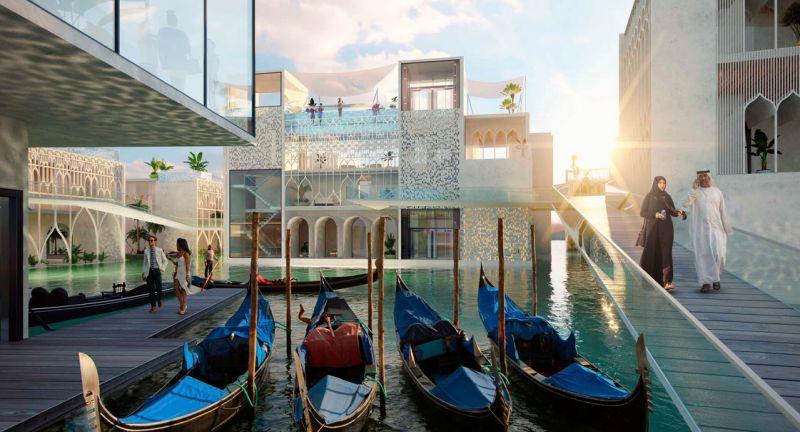 World's first underwater resort floating venice