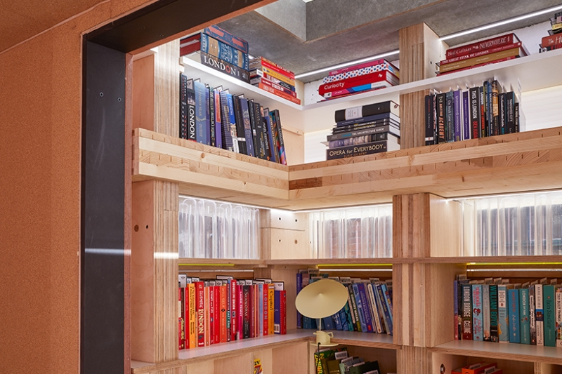 Mini Living cabin designed by Sam Jacob