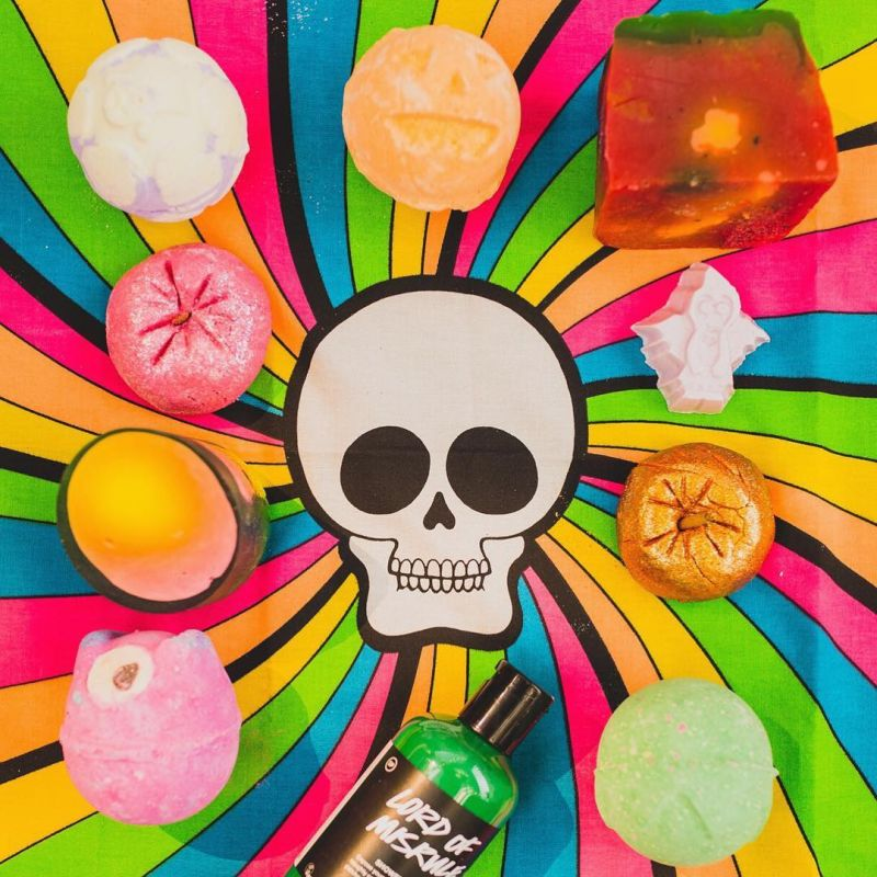 Halloween Soap bombs by Lush