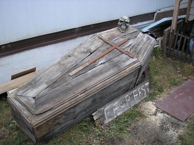 A Pallet Coffin