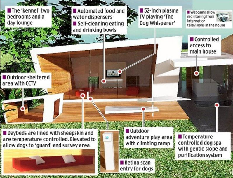 Most expensive dog house