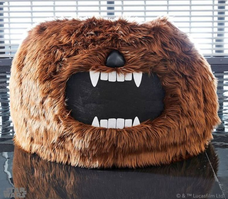 Chewbacca Bean Bag Chair Perfect For Star Wars Fans