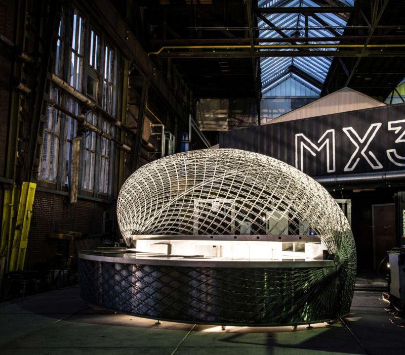 Cucuyo: A 3D-printed café at Pérez Art Museum Miami