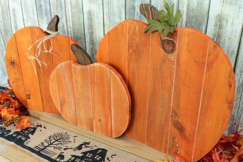 Pallet pumpkin