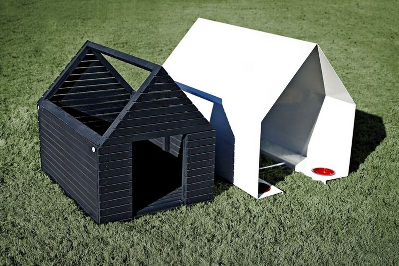 architectural doghouses