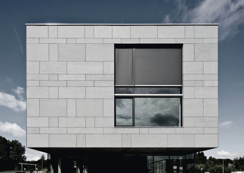 Porcelain Tile Exterior Cladding