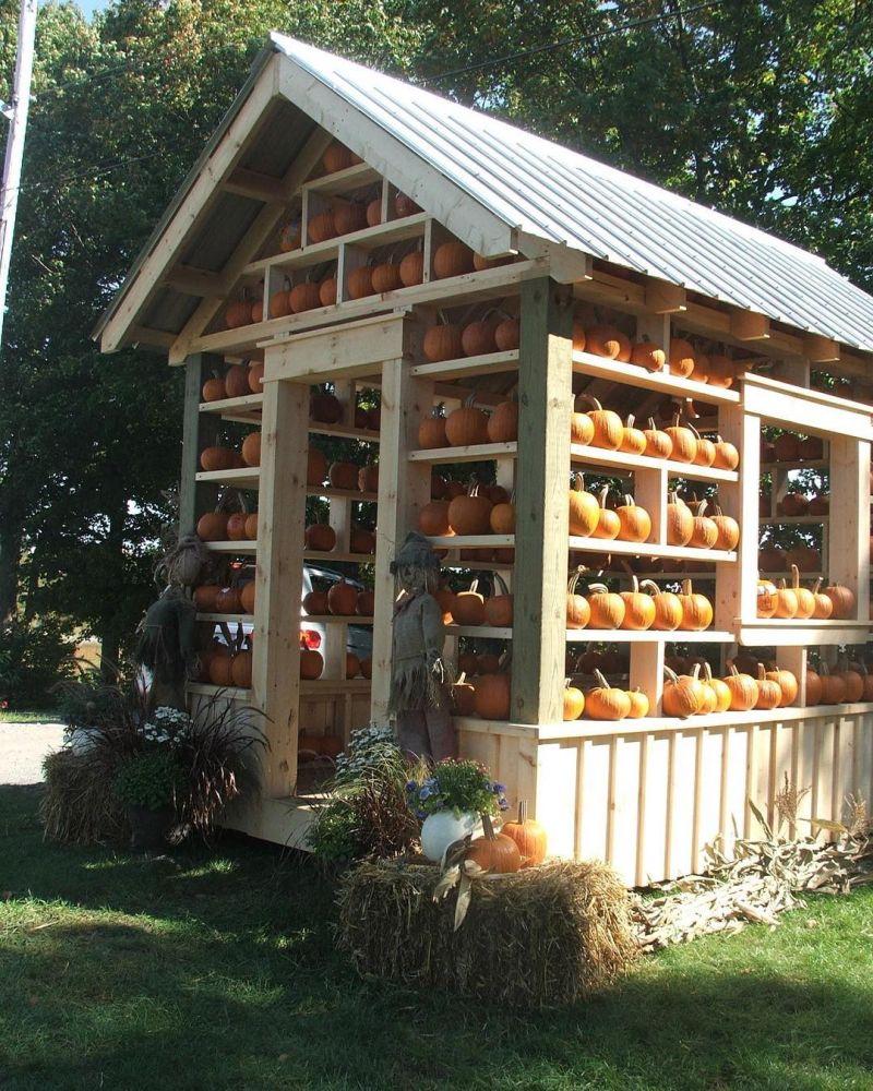 Pumpkin house for Halloween