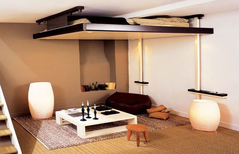 ceiling beds