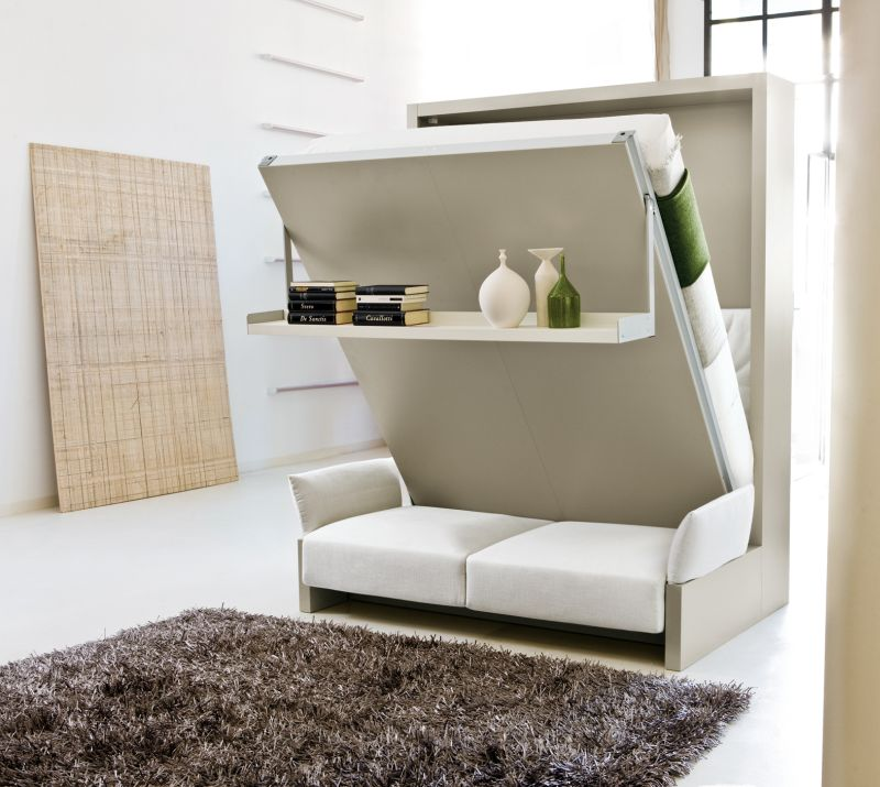 In-wall bed