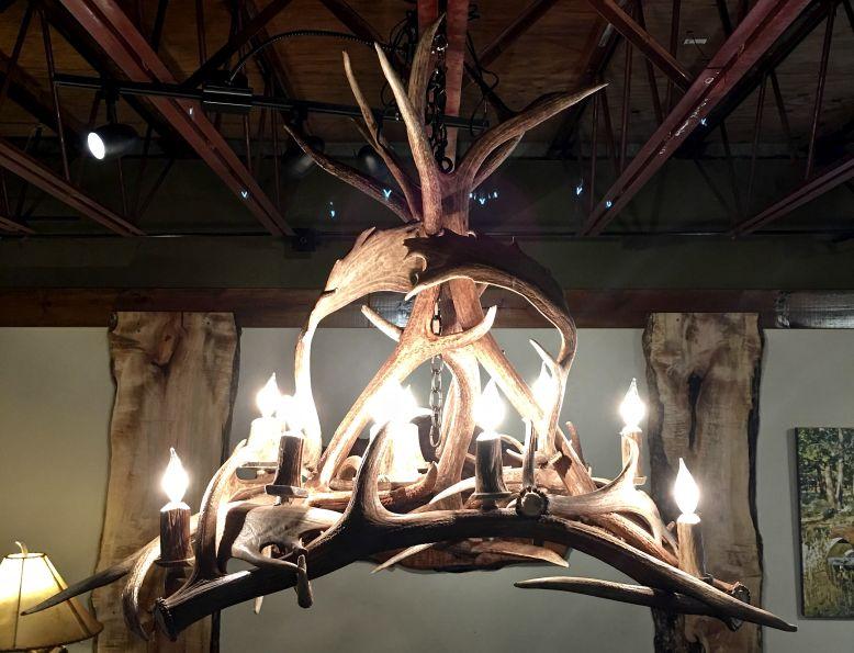 real antler chandelier downlight kelly maxwells real antler chandelier