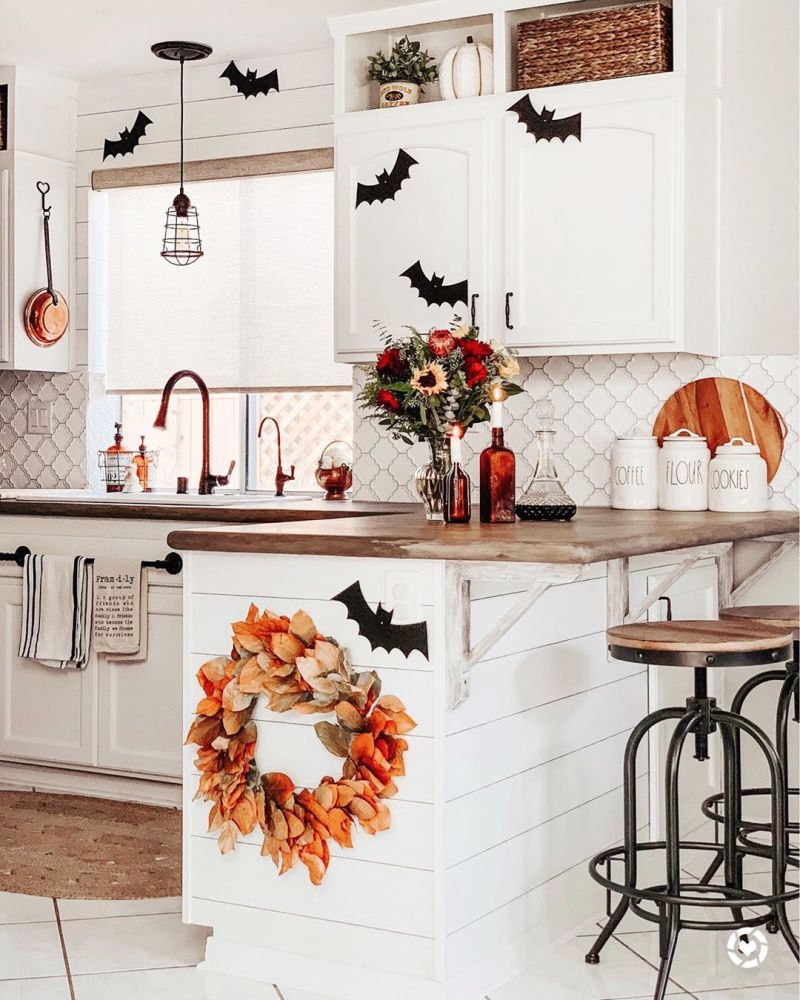 Kitchen Halloween decoration ideas