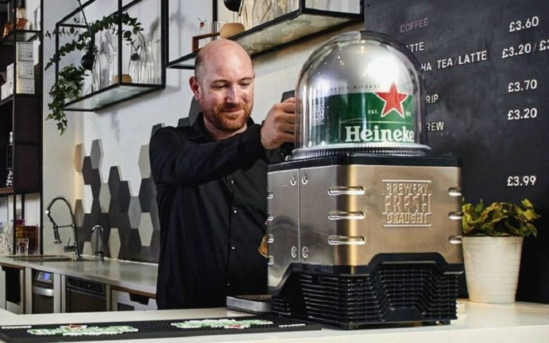 Make A Bar On Any Counter With Heineken S Blade Draught