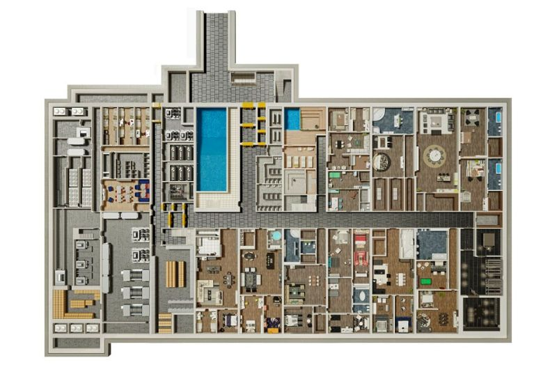 Why are the Rich Investing in Doomsday Underground Bunker? Zombie Proof House Floor Plan For on zombie survival home, prefab round house plans, tactical house plans, zombie apocalypse house, fortified house plans, fortress house plans, open modern house plans, vintage house plans, survival bunker plans, bunker silo plans, hurricane proof house plans, big house plans, zombie fortified house, bunker house plans, zombie fortress house, earthquake proof house plans, tornado resistant home plans, survival house plans, zombie protection house,