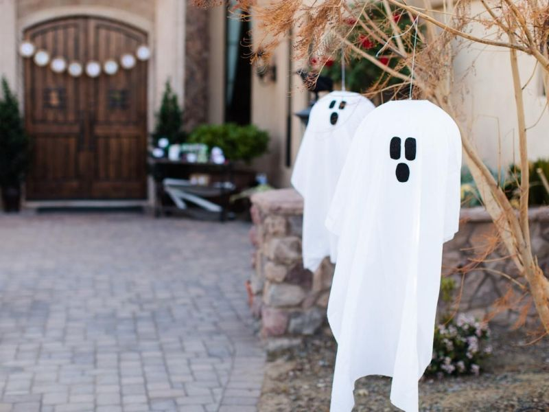 Outdoor Halloween decoration ideas
