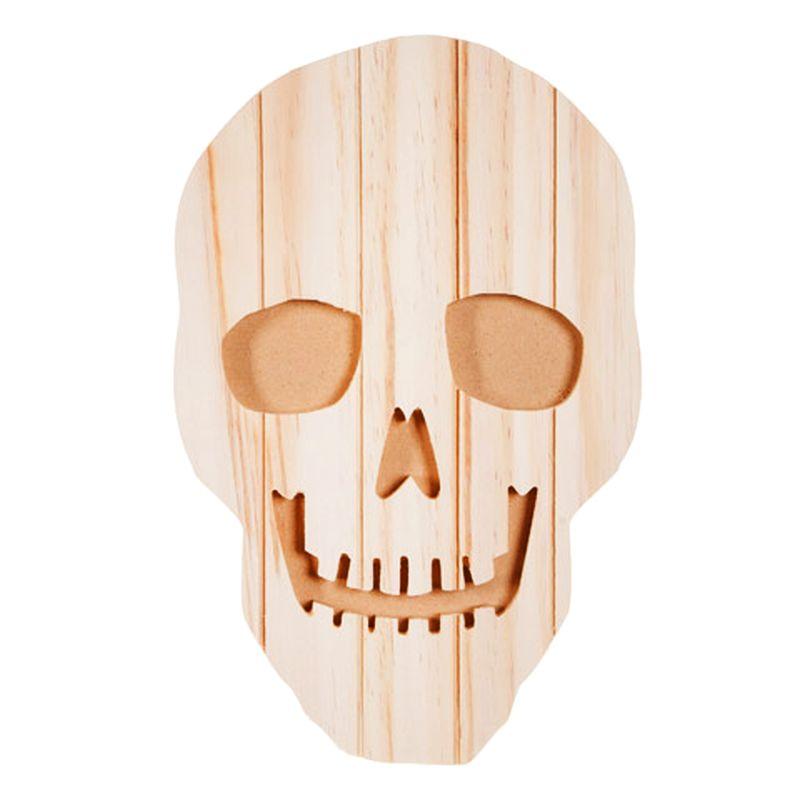 Pallet wood skull