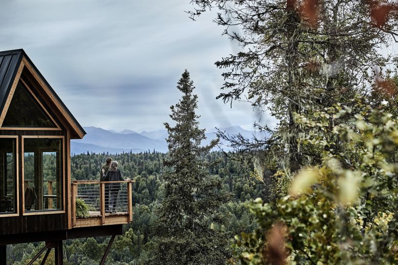 Princess Cruises' Alaskan treehouse offers awesome views of Denali