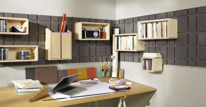 Shelving and closet for small interiors