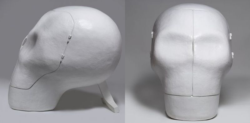 Skull chair -  by Joep Van