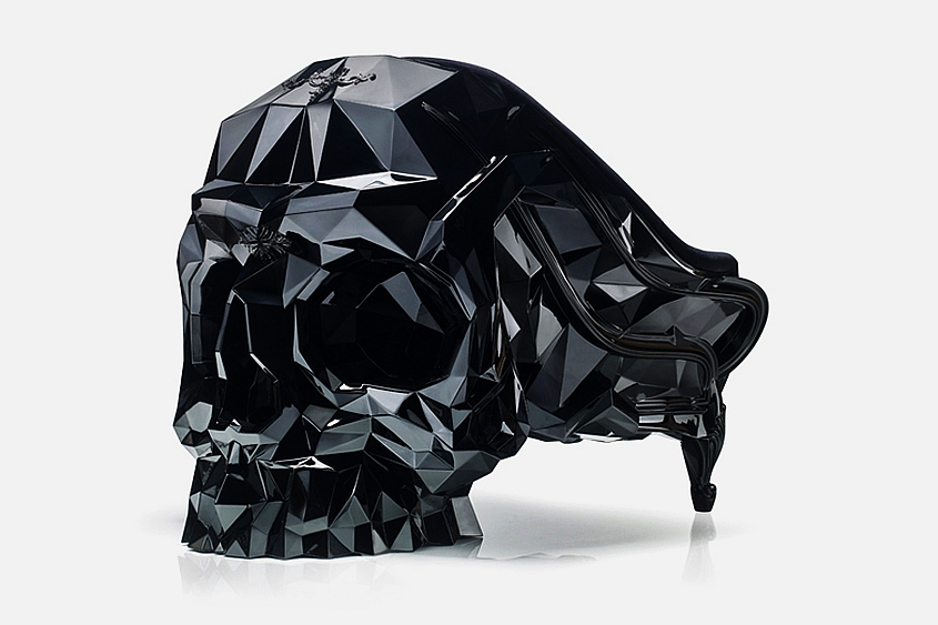 Skull chair for Halloween