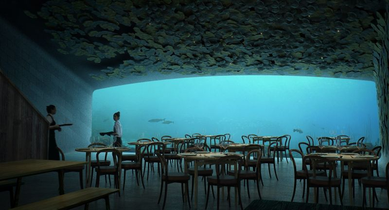Snøhetta reveals plans for Europes' first underwater restaurant