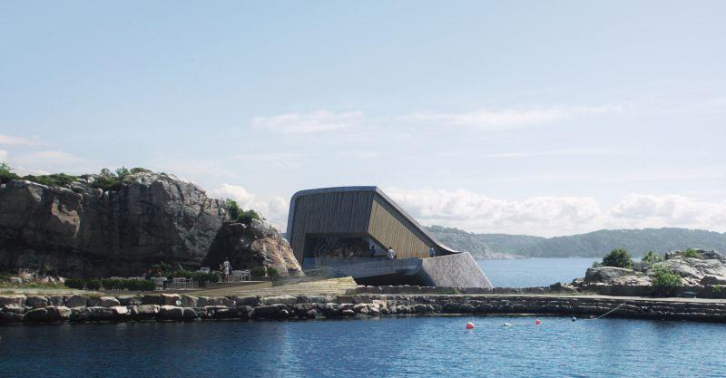 Snøhetta reveals plans for Europes' first underwater restaurant