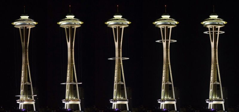 Space Needle all set to treat daredevil diners with glass floor restaurant