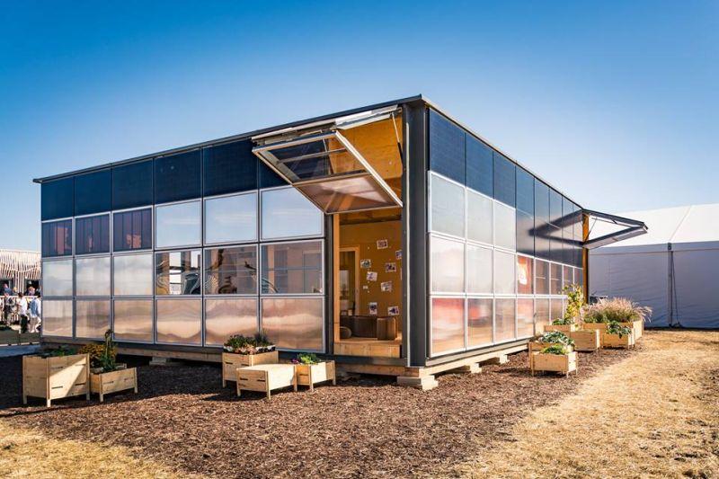 Swiss team wins Solar Decathlon 2017 with NeighborHub solar community house