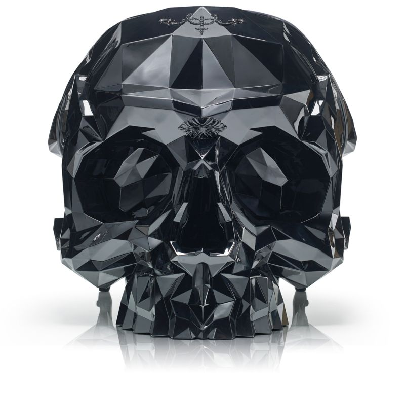 The angular skull armchair by Harrow