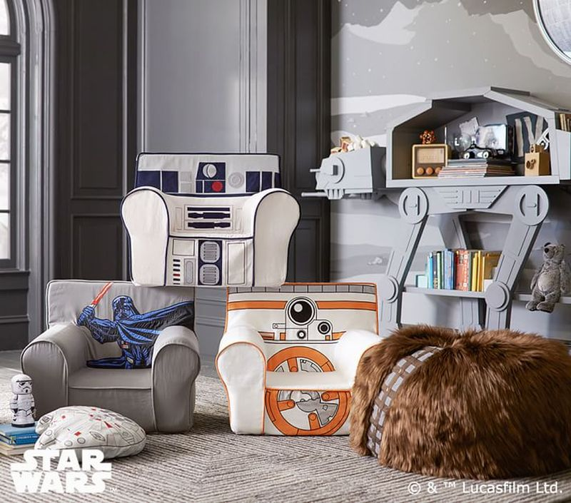 Pleasant Chewbacca Bean Bag Chair Perfect For Star Wars Fans Creativecarmelina Interior Chair Design Creativecarmelinacom