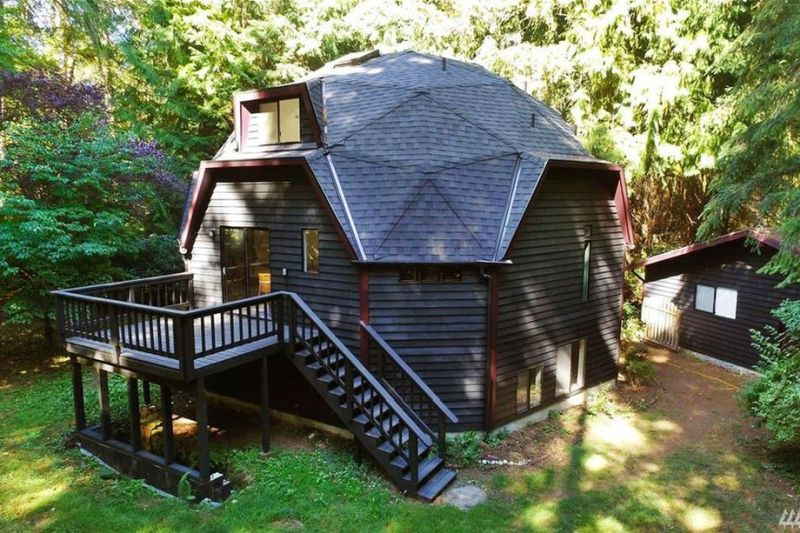 Vashon Geodesic Home