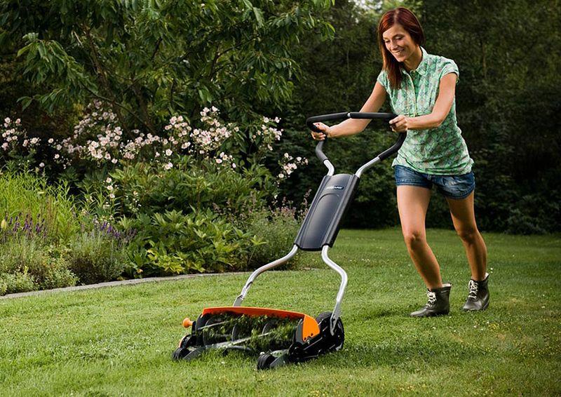 Mow the garden
