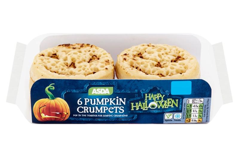asda-pumpkin-crumpets cake