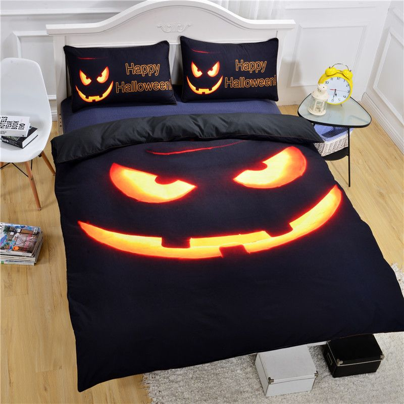 Halloween bedsheet for bedroom