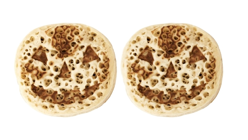 pumpkin crumpet cakes by asda