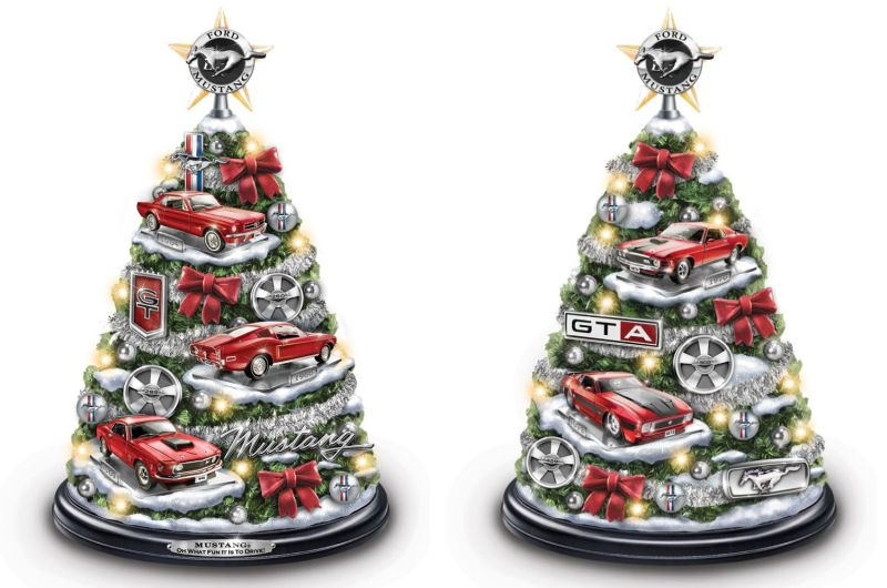 Christmas tree for auto car lovers