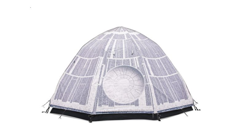 Death Star camping tent to fulfill your destiny with Star Wars