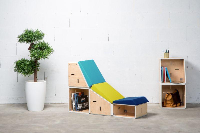 Eneixiau0027s Sieste Modular Lounge Chair Looks Ideal To Improve Modern  Workplaces