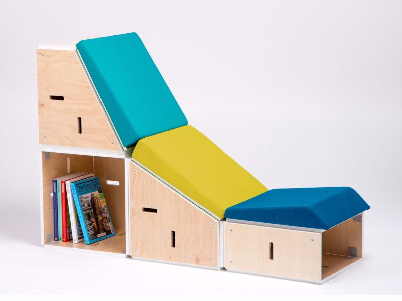 Eneixia's Sieste modular lounge chair looks ideal to improve modern workplaces